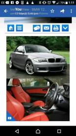 Immaculate convertible BMW 1series