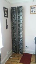 Ikea CD or DVD Towers Racks x 2, Storage