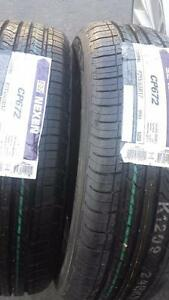 BRAND NEW WITH LABELS NEXEN HIGH PERFORMANCE ' H ' RATED 215 / 65 / 17 ALLSEASON TIRE SET OF TWO.