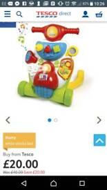 2 in 1 baby activity walker