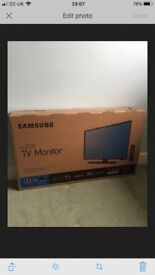 "Brand New Samsung 32"" LED Television In Sealed Box - TV"