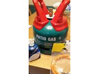 Calor 5kg Patio Gas Bottle with Regulator and Pipe all New
