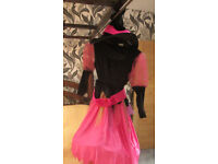 Girls Witch outfit - Medium 7-10y