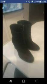New look Ankle boots size 3