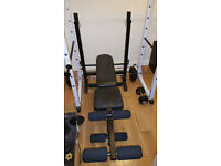 Marcy Weight Bench Press with leg extensions