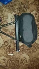 Cycle luggage rack and bag