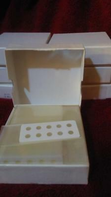 Standard-size Teflon-coatedhydrophobic 10-well Microscope Slides Box Of 72