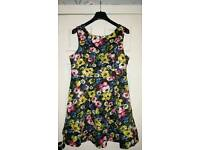 Size 18 Black floral dress