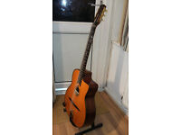 Gitane gypsy jazz acoustic guitar, very good condition with two pickups fitted.