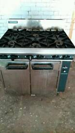 Six burner cooker - almost new