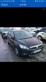 Ford Focus Zetec facelift 2008 runs and drive with MOT