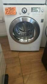 LG 11KG LOAD 1400 SPIN WASHING MACHINE IN WHITE
