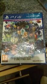 World of Final Fantasy PS4 Sealed