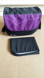 Silver Cross Baby Changing Bag - Purple/Damson