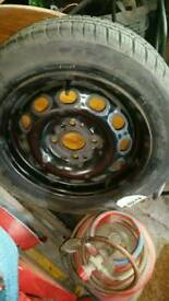 4x108 Steel Wheel with New Tyre Ford Wheel