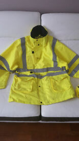 Insulated Hi Viz jacket