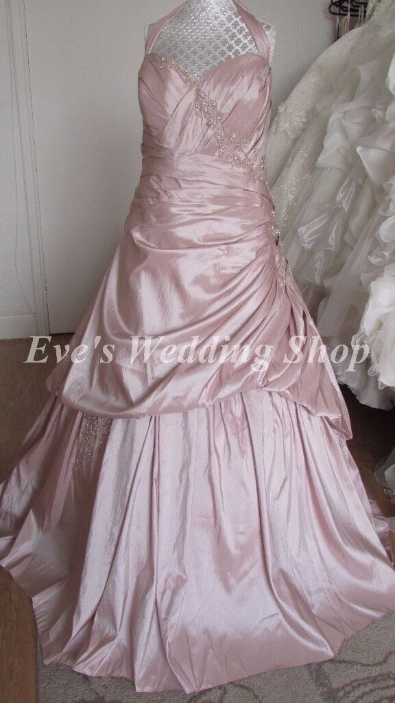 Sonsie Veromia Rum Pink Wedding Dress Uk 26