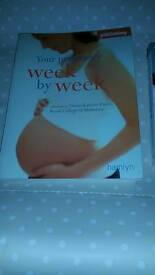 Pregnancy books and baby names book