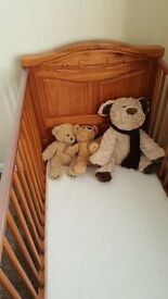 Cot Bed for Sale with Matress