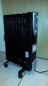 Warmlite WL43004BT Oil Filled Radiator 2000W