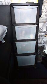 Storage drawer plastic