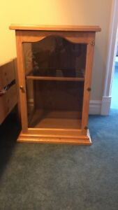Solid Oak Television Stand
