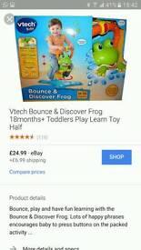 Vtech sit on frog