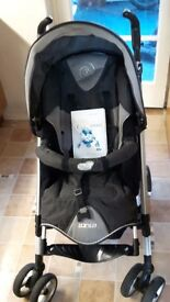 Bebe Confort Travel System, includes pushchair, carrycot, footmuff and car seat