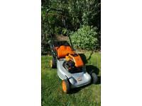 Flymo husquvna quicksilver self propelled lawnmower