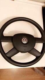 VW Golf MK5 Steering Wheel