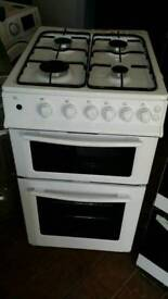 Swan new 50 cm gas double oven can deliver with waranty 07547674063