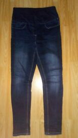 Matalan Papaya maternity jeans size UK 12