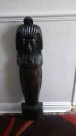 Egyptian wood figure