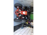 Road legal. Quad project swap pitbike