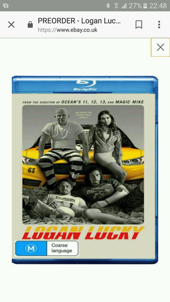 Logan Lucky 2017 full blu-ray copy