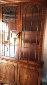 Mahogany Bookcase