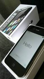 iPhone 4s 8GB black, on EE , in immaculate condition, very lightly used ,perfect screen,
