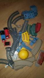 Thomas trackmaster sets.