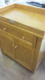 Solid Pine Silver Cross Pine Unit Ex Display