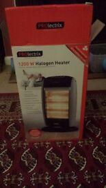 1200w Halogen heater x2 £10 each