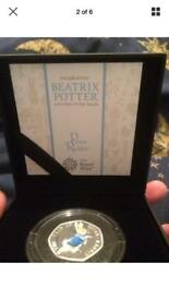 Tale of Peter Rabbit 50p - 3 items available