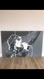 Ian Brown canvas width 123 cm and length 80 cm