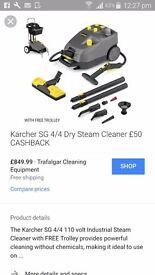Karcher sg 4/4 steam cleaner brand new on box