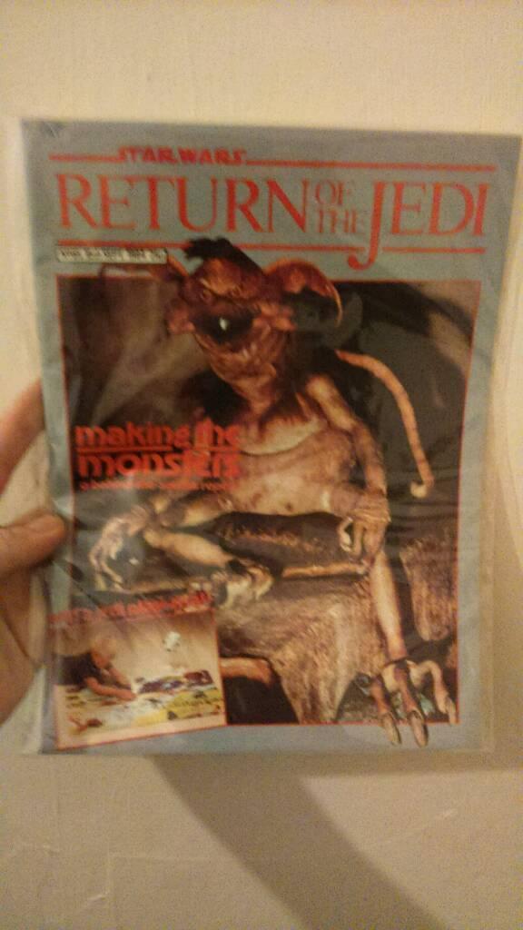 Old star wars magazine