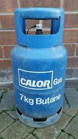 CALOR GAS BOTTLE 7KG BUTANE CARAVAN