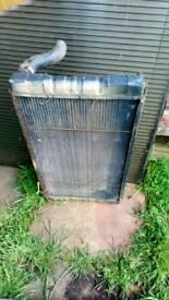 Landrover 2.5na radiator