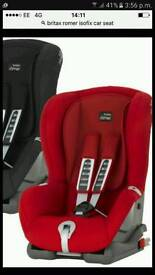 Britax Roamer ISOFIX (Brand New) in flame red