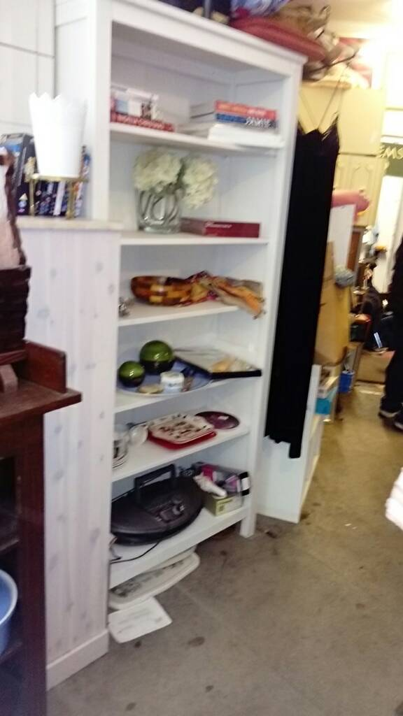 Bookcase x 2in Poole, DorsetGumtree - Bookcase shelving x 2 7ft tall can deliver