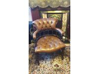 Vintage chesterfield chair