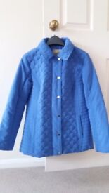 Pretty blue jacket from M&Co, size 10 for sale